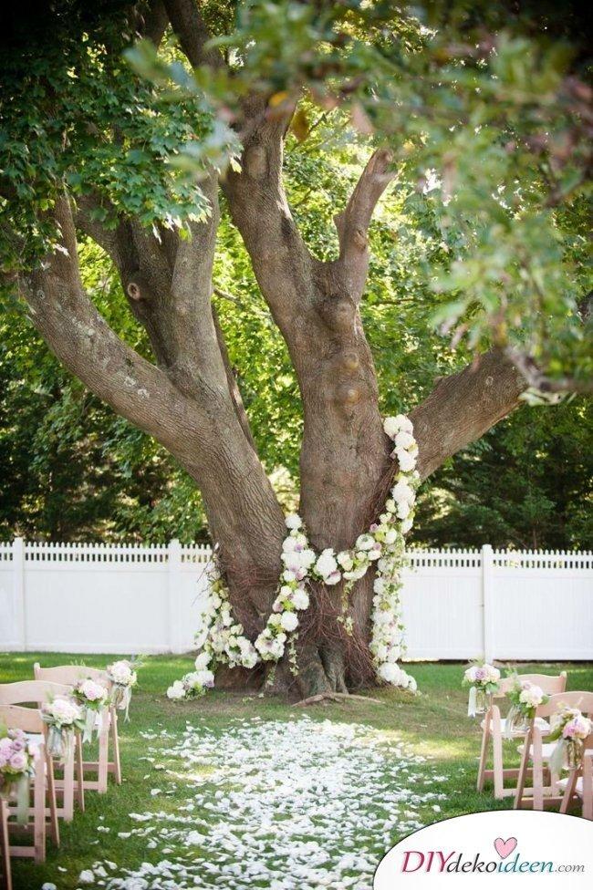 Garten Hochzeit - Hochzeitsdeko Ideen