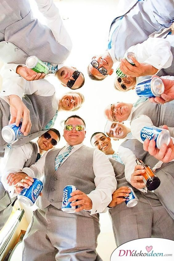 Witzige Hochzeitsfotos - Fotoideen für Gäste