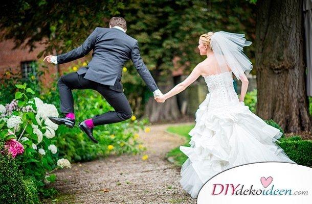 Witzige Hochzeitsfotos - Lustige Brautpaarbilder