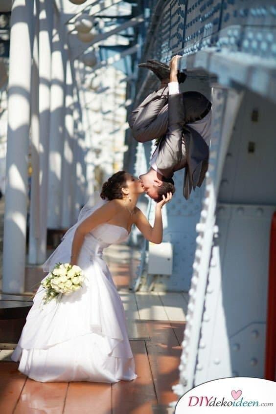 Witzige Hochzeitsfotos - Lustige Hochzeitsbilder