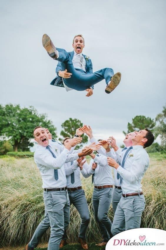 Witzige Hochzeitsfotos - Ideen für das Shooting