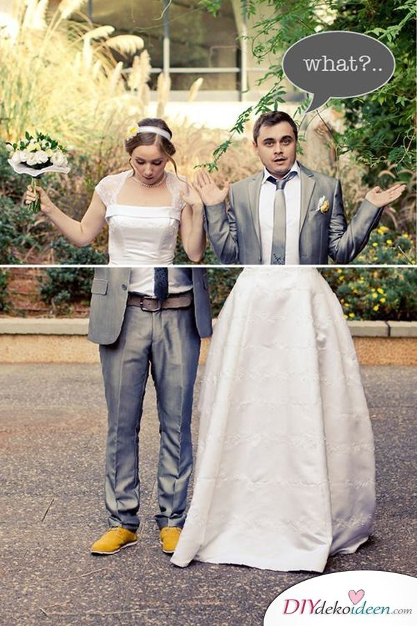 Die Besten Ideen Fur Witzige Hochzeitsfotos So Macht Das