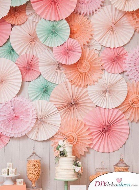 DIY Hochzeitsfoto Hintergrund - Dekoideen