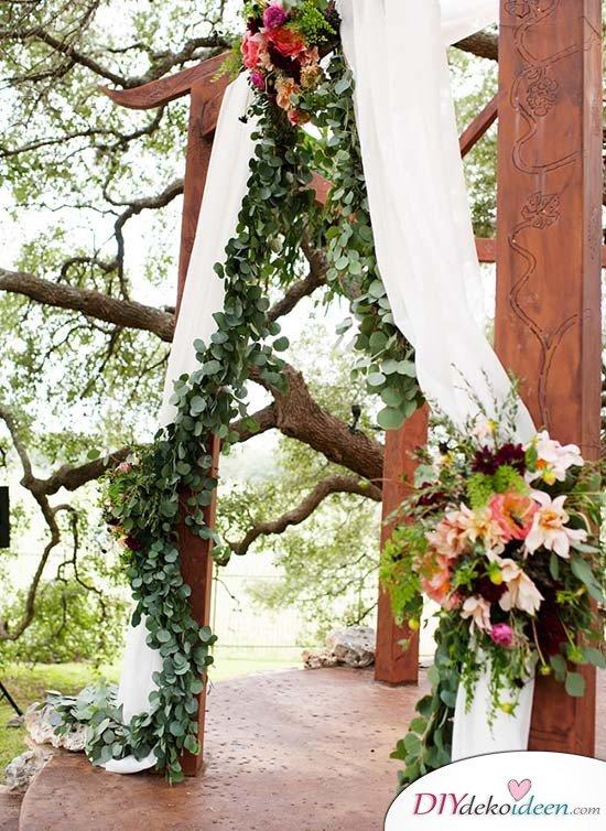 Hochzeitsfoto Hintergrund - DIY Dekoideen Hochzeit