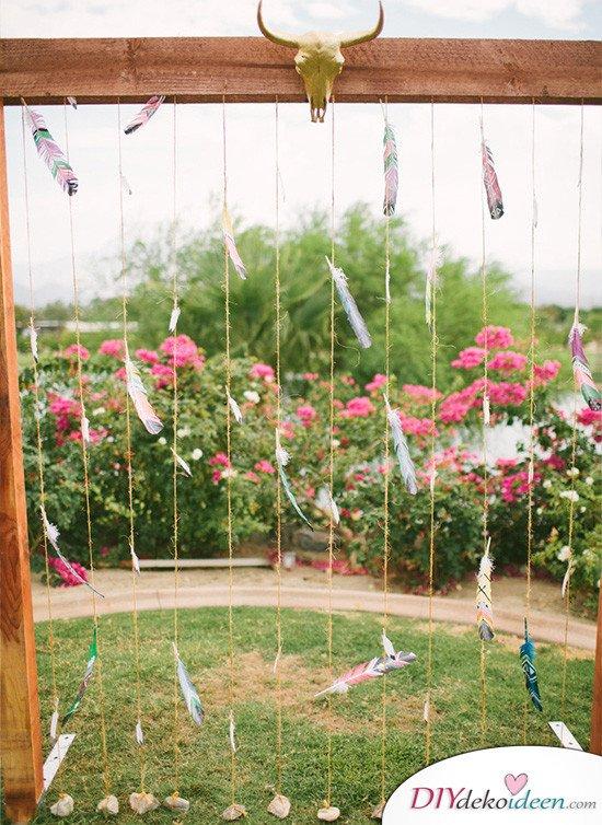 Hochzeitsfoto Hintergrund - DIY Projekte