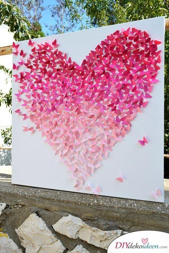 DIY Hochzeitsfoto Hintergrund - basteln mit Papier