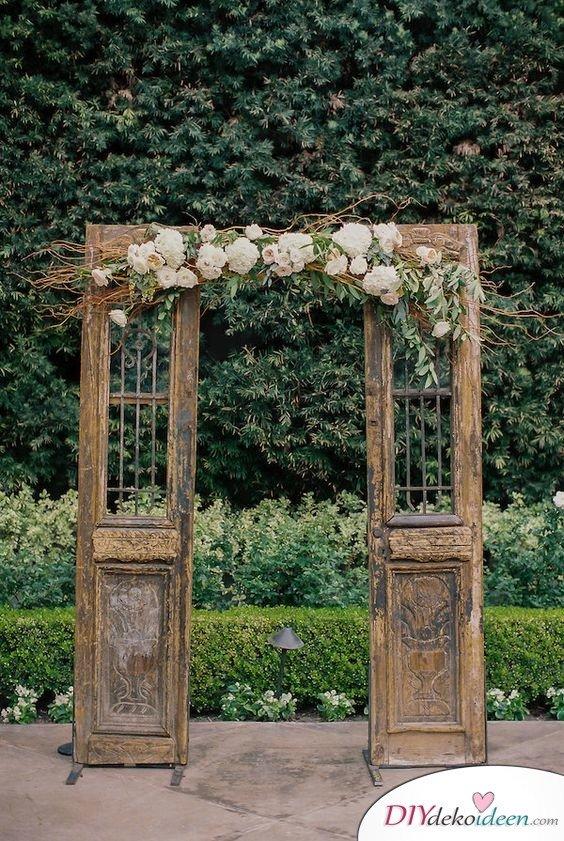 DIY Hochzeitsfoto Hintergrund - Retro