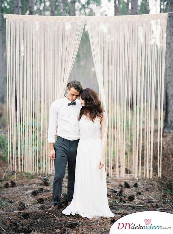 DIY Hochzeitsfoto Hintergrund - Hochzeitsplanung