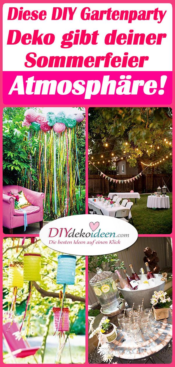 Diese Diy Gartenparty Deko Gibt Deiner Sommerfeier Atmosphare Diy