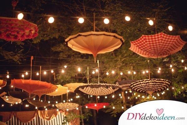 DIY Gartenparty Deko - Deko selber machen