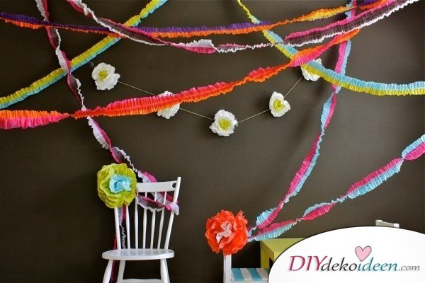 DIY Gartenparty Deko - Partyideen