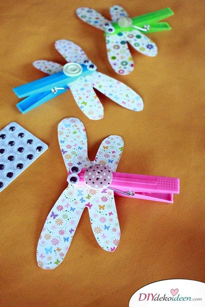 Basteln mit Kleinkindern – Simple DIY Bastelideen für die Sommerferien