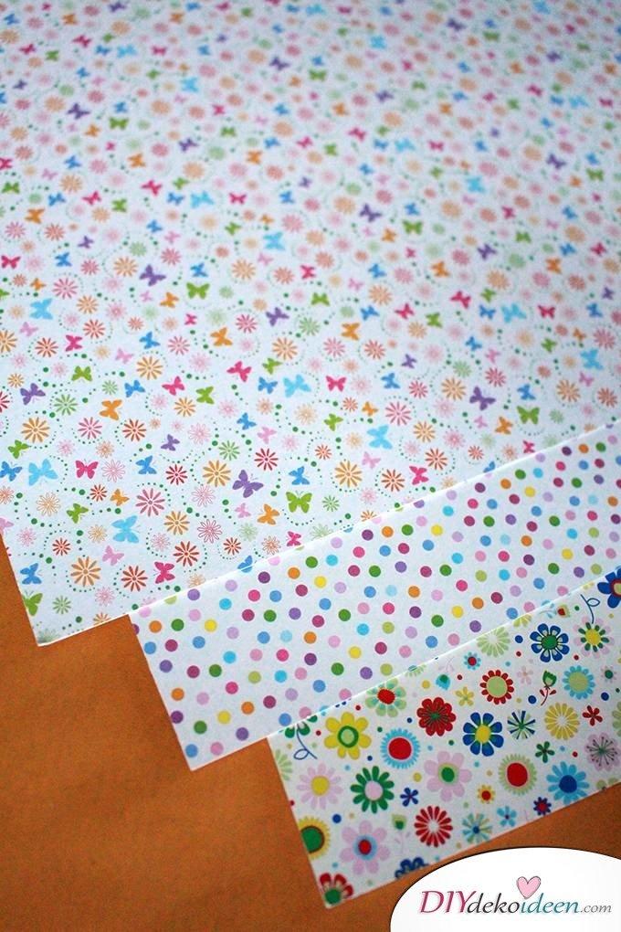 Basteln mit Kleinkindern – Basteln mit Papier