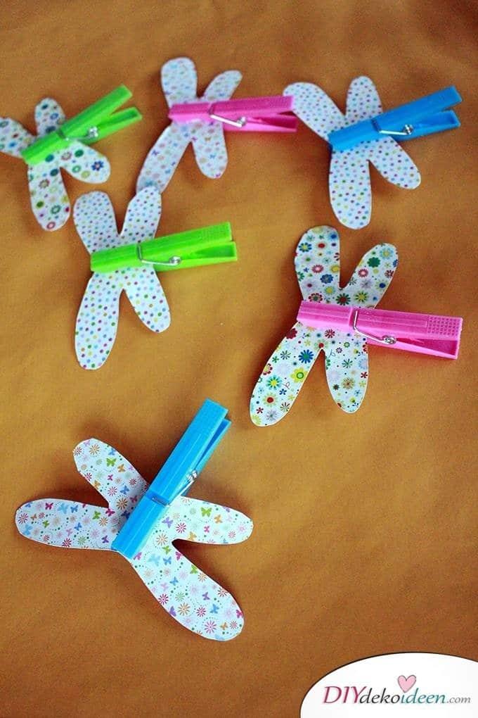 Basteln mit Kleinkindern – Bastelideen für die Sommerferien