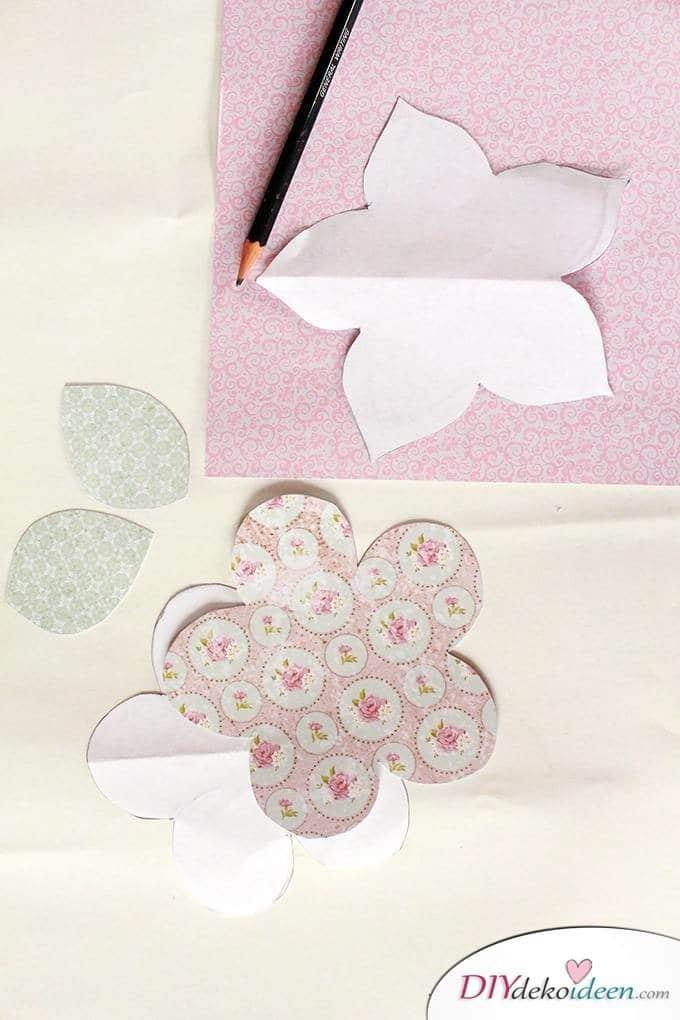 DIY Papierblumenstrauß zum Muttertag