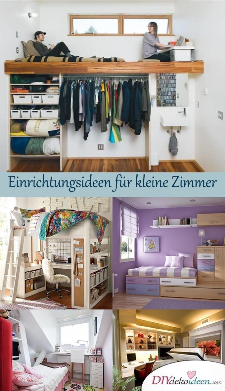 Kleine Zimmer einrichten - Interieur - Einrichtungsideen
