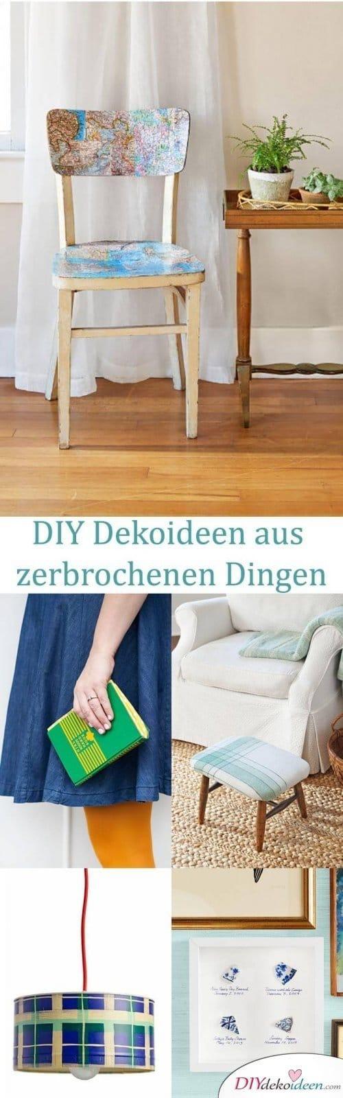 DIY Dekoideen - Deko selber machen - upcycling