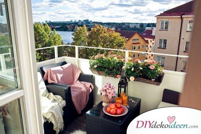 DIY Balkon Dekoideen - Balkon gestalten