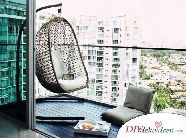 DIY Dekoideen - Balkon verschönern