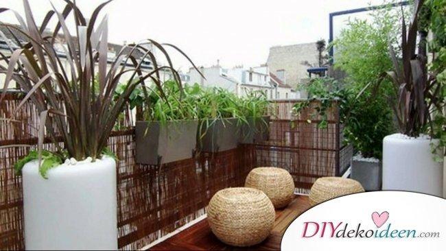 DIY Dekoideen für den Balkon