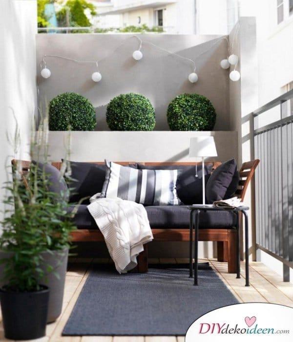 DIY Dekoideen für den Balkon - Exterieur Ideen