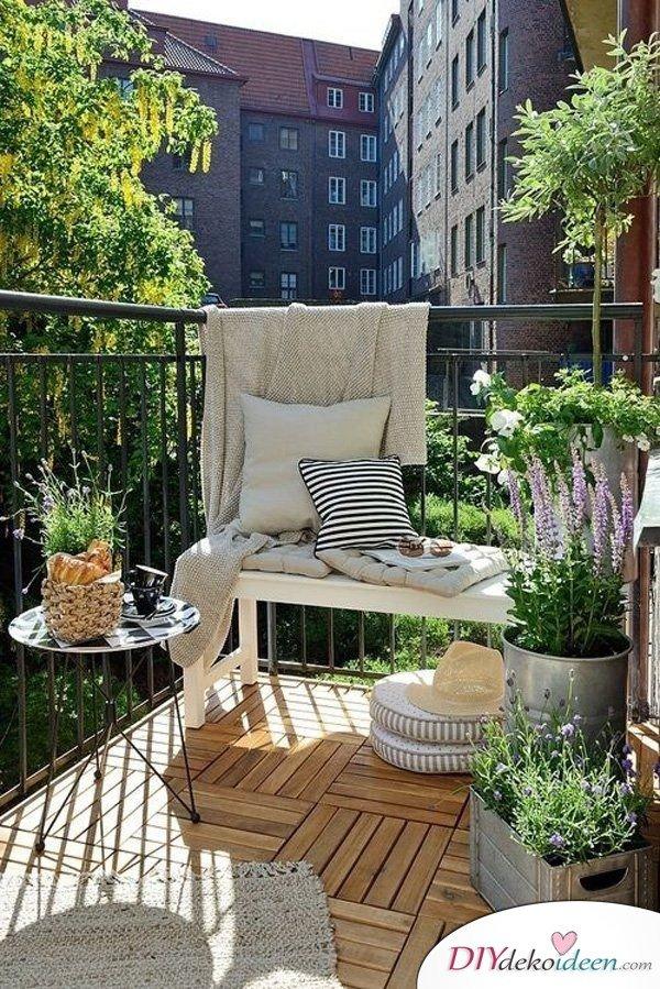 DIY Dekoideen für dein Zuhause - Balkon gestalten