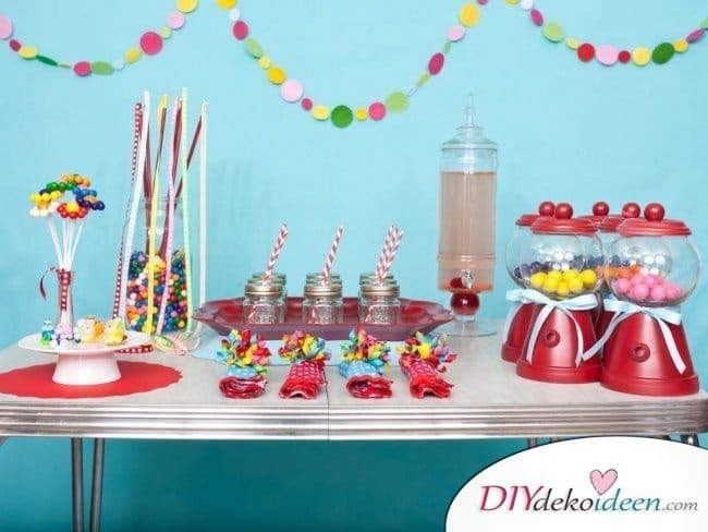 DIY Dekoideen Kinderparty