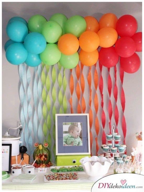 DIY Partydeko - Kindergeburtstag