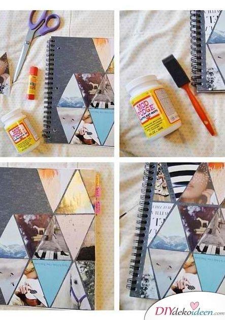 Scrapbooking - DIY Fotoalbum gestalten