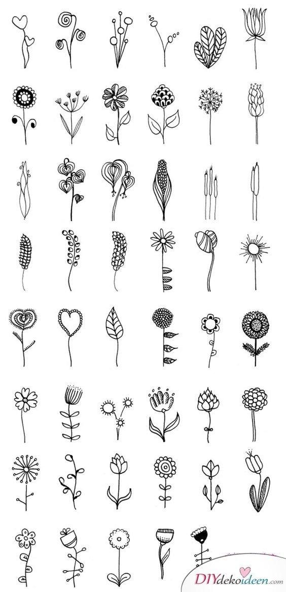 Scrapbooking - Ideen für Blumen - DIY Fotoalbum dekorieren