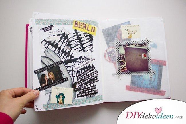 Scrapbooking - Urlaubsfotoalbum gestalten DIY fotoalbum