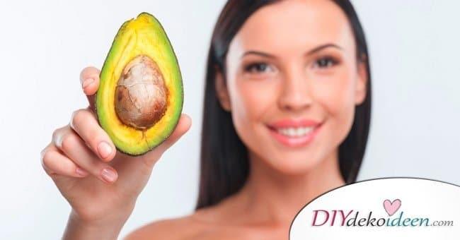 10 Hausmittel für natürlich volles Haar - Avocado