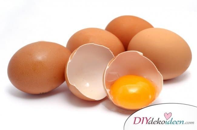 10 Hausmittel für natürlich volles Haar - Eier