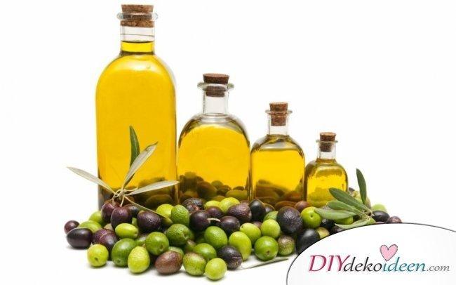 10 Hausmittel für natürlich volles Haar - Oliven