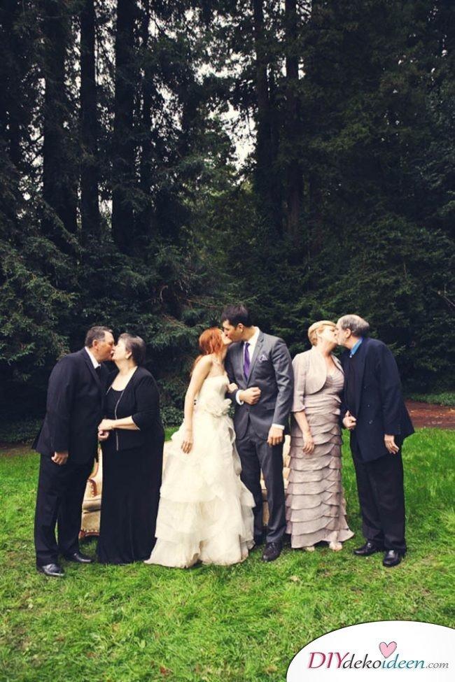 Hochzeitsbilder Ideen - Familien Fotos