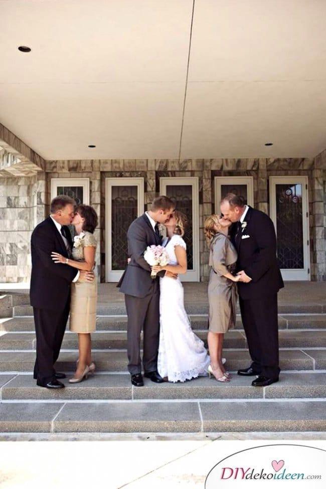 Familien Hochzeitsfotos Ideen