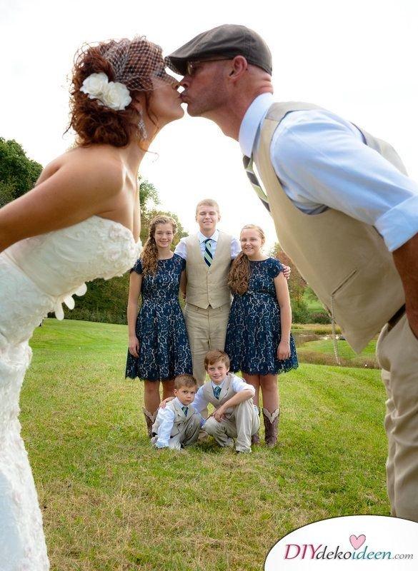 Familien Hochzeitsbilder Ideen fürs Album