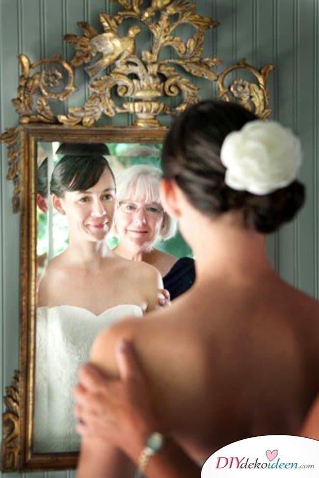 Familien Hochzeitsbilder Ideen - Braut und Brautmutter