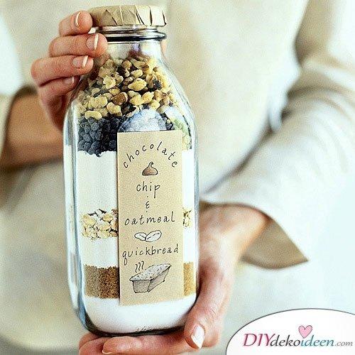 Günstige Geschenkideen - DIY Kuchen im Glas