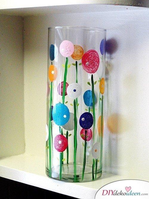 Günstige Geschenkideen - DIY Vase