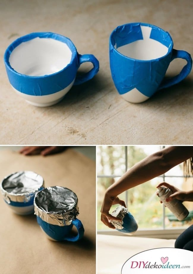 Günstige Geschenkideen - DIY Teetassen Anleitung