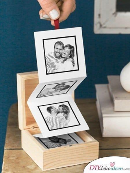 Günstige Geschenkideen - DIY Fotoalbum