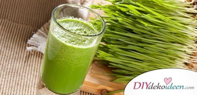 Hausmittel gegen Zahnschmerzen - Weizengrassaft