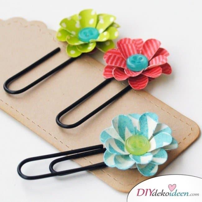 Scrapbooking - Blumen basteln - DIY Fotoalbum dekorieren