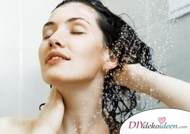 Rezepte Shampoo selber machen - Apfelweinessig-Shampoo