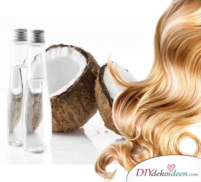 Rezepte Shampoo selber machen - Kokosnuss-Shampoo