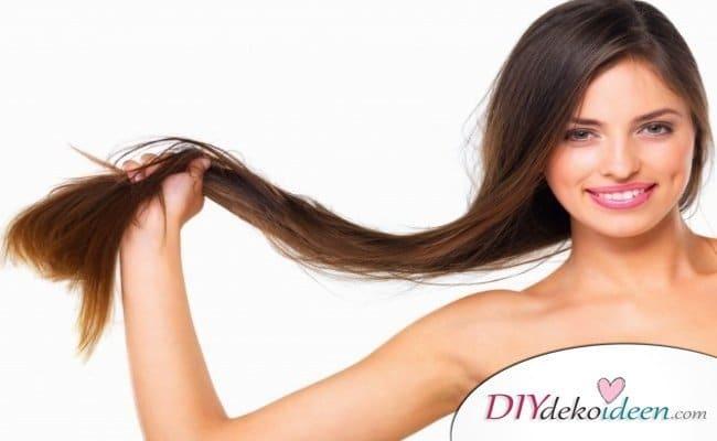 Rezepte Shampoo selber machen - Shampoo fürs Haarwachstum