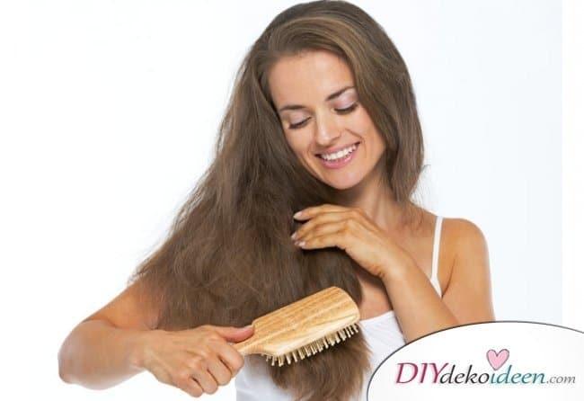 Hausmittel für weiches Haar - schöne Haare