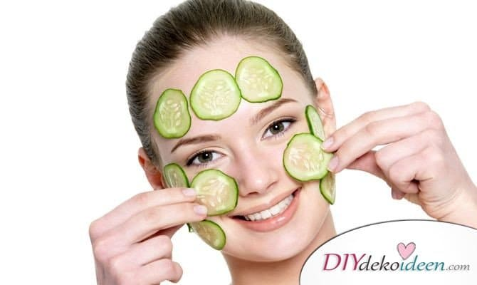 10 Hausmittel gegen Pickel - Gurken