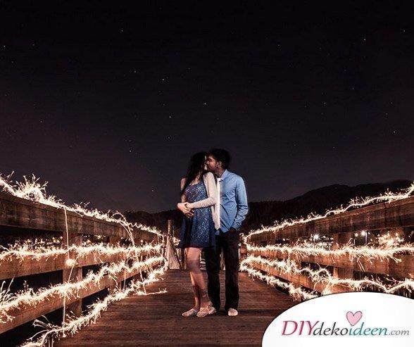 Wunderkerzen zur Hochzeit - Hochzeitsalbum Foto Ideen